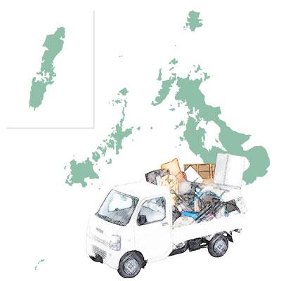長崎県出張対応エリアマップ